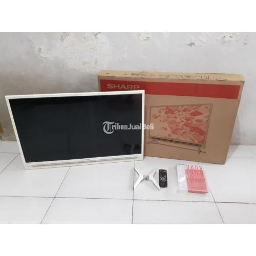 LED TV SHARP 32inch Tipe Terbaru Second Normal Like New Mulus - Surabaya