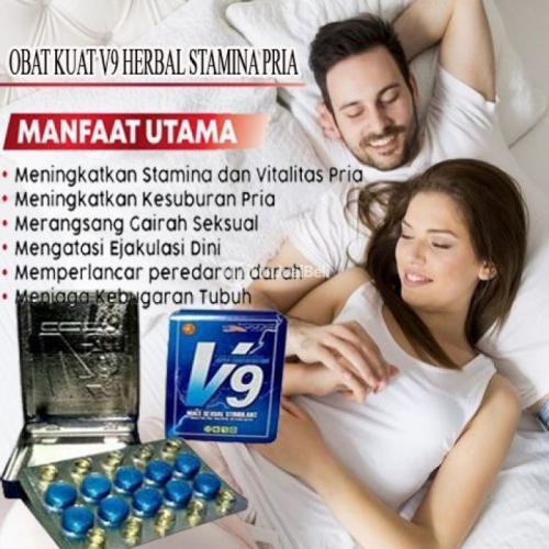Obat Kuat V9 100% Asli Herbal Isi 10 Tablet Free Ongkir - Sragen