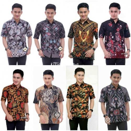 Baju Batik Pria Banyak Varian Warna & Motif Harga Terjangkau Kualitas Terbaik -