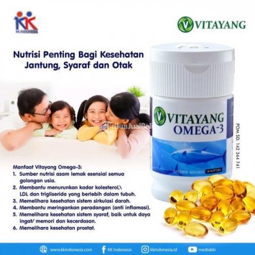 Vitayang Omega 3 Obat Cegah Penyakit Sirulasi Darah Aman Dikonsumsi - Bandung