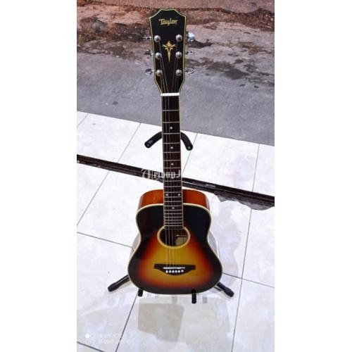 Gitar Akustik Taylor 3/4 Body Kayu Maranti Senar String Stel - Malang
