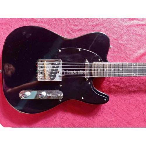 Gitar Listrik Fender Telecaster Custom Bekas Normal Mulus Sound Oke - Semarang