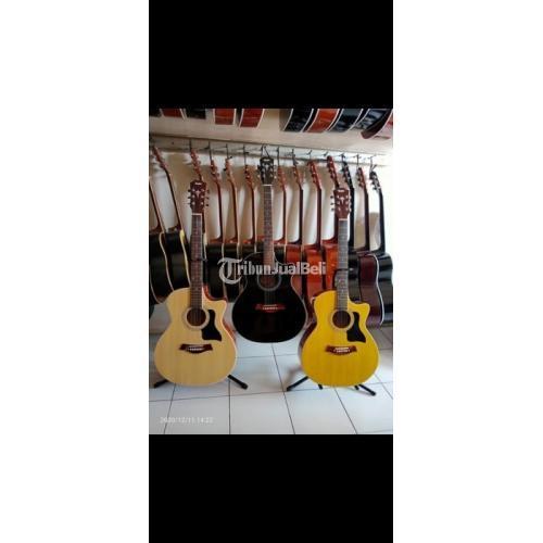 Gitar Akustik Baru No Minus Harga Promo Bonus Pick Gratis Ongkir - Jakarta Timur