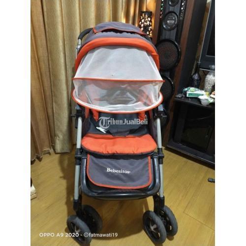 Stoller Baby Pliko Bebesitos Orange Hitam Multi Fungsi Kondisi Normal Mulus - Surabaya