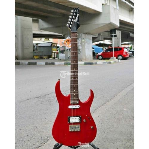 Gitar Elektrik Custom Ibanez Spek Oke Suara Oke Plybility Nyaman - Jogja