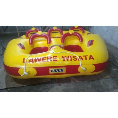 Perahu Karet Donat Boat  Murah Donat Boat Kapasitas 5 Orang - Tangerang