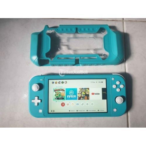 Nintendo Switch Lite Konsol Game Bekas Mulus Aman Pemakaian 5 Bulan - Jogja
