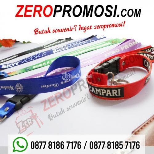 Produksi Tali Id Tali Lanyard Lebar 2,5 cm Nilon & Tissue - Tangerang