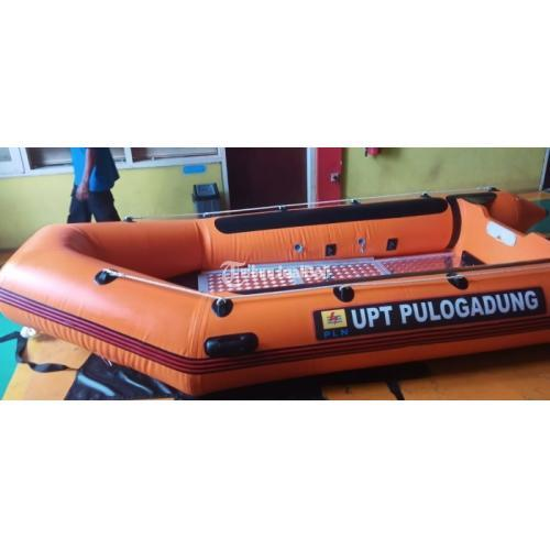 Perahu Robber Boat Kapasitas 8 Murah Robber Boat LCR Perahu Karet - Tangerang