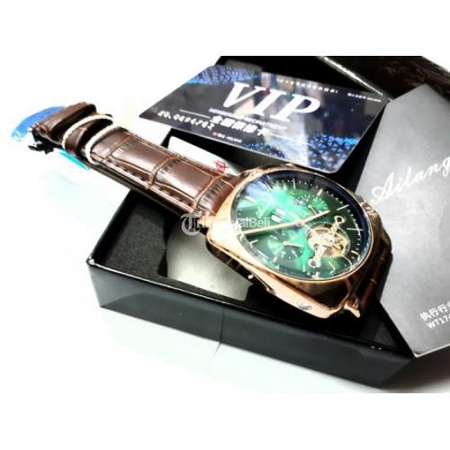 Jam Tangan Automatic Pria Ailang 8655 Chronograph Stainless Steel Waterproof - Jakarta Pusat