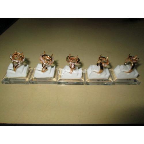 Ring Titanium Cewek Kodian 20pcs Warna Gold KTTN001  Asli - Jakarta Pusat