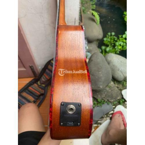 Gitar Ukulele 24 Elektro Akustik Bekas Bonus Sofcase Strap Harga Nego - Bandung
