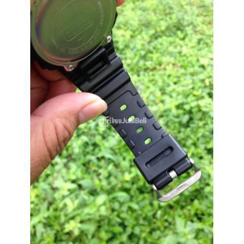 Jam Tangan Pria Digital Casio DW5600BB Bekas Normal Lengkap Box - Bandung