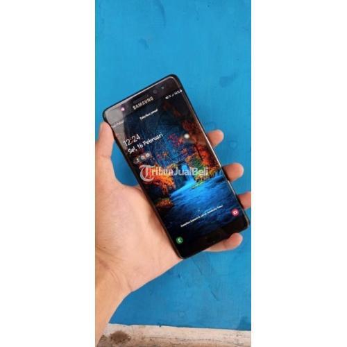 HP Samsung Note FE 7 Fullset Hitam Body Mulus No Minus Bekas Normal - Depok