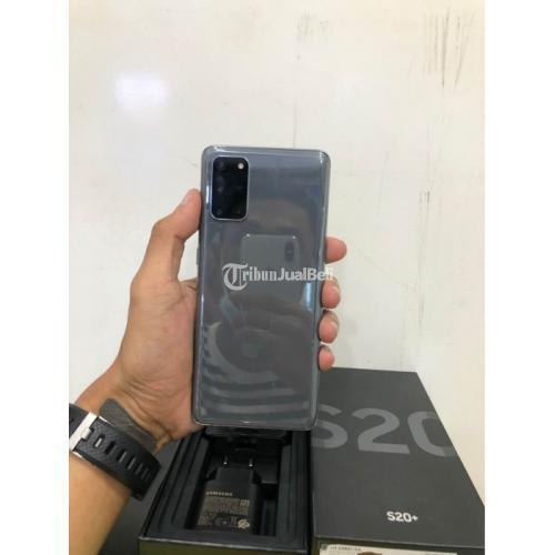 HP Samsung S20 Plus Bekas Ram 8/128GB Like New Fullset Ori Nominus - Solo