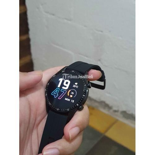 Bekas Huawei Watch GT 2 Sport Black Bekas Like New Mulus Harga Nego - Jogja