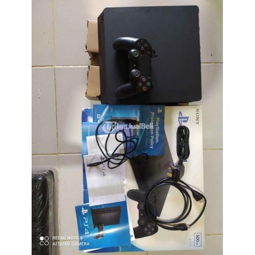 Konsol Game Sony PS4 Slim Full Game HEN 5.05 Normal Ori Mesin - Semarang
