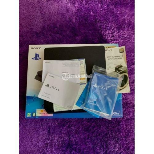 Konsol Game Sony PS 4 Slim 500 GB Bekas Lengkap Garansi Aktif Siap Pakai - Denpasar