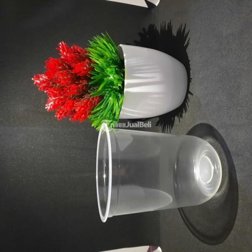Sablon Cup Plastik PP Oval 16oz 9gr Bisa Custom Warna Minimal Order 1000 Cup - Jakarta Pusat