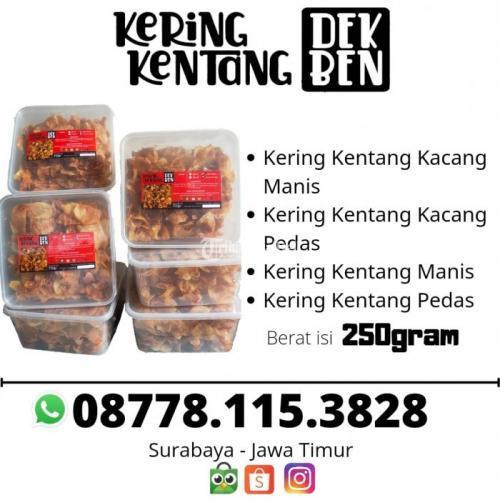Kering Kentang Dek Ben Rasi Pedas Manis Bisa Pakai Kacang Homemade - Surabaya