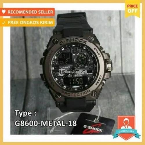 Jam Tangan G-Shock Digital Analog Baru Diameter 4.8 Cm Bahan Ruber + Box - Tasikmalaya