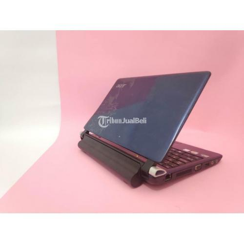 Notebook Acer Type Aspire One Kav60 Layar 10inch Bekas Normal Harga Murah - Solo