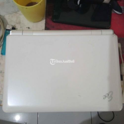 Notebook Merk E Three Fullset Bekas Putih Kondisi Normal - Jakarta Pusat