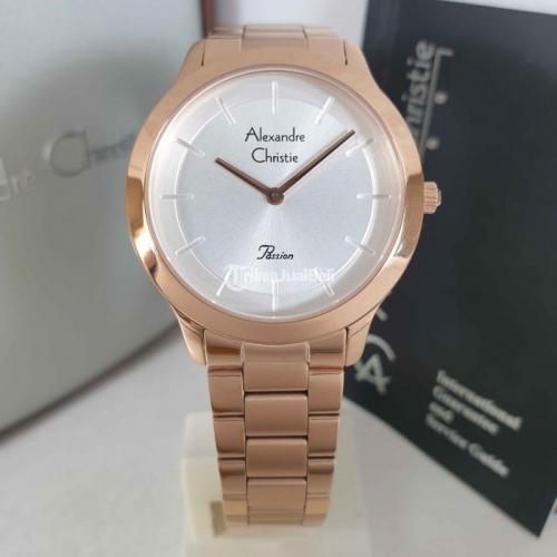 Jam Tangan Wanita Alexandre Christie 2834 Original Baru Garansi 1 Tahun - Jogja