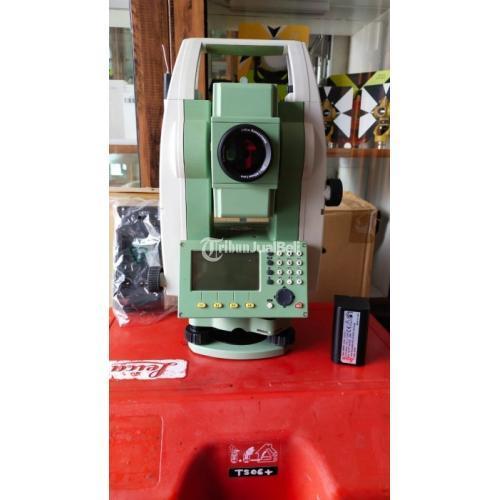 Total Station Leica TS06 R500 USB Memori Stik 1GB Bluetooth Kondisi Baru - Bandung
