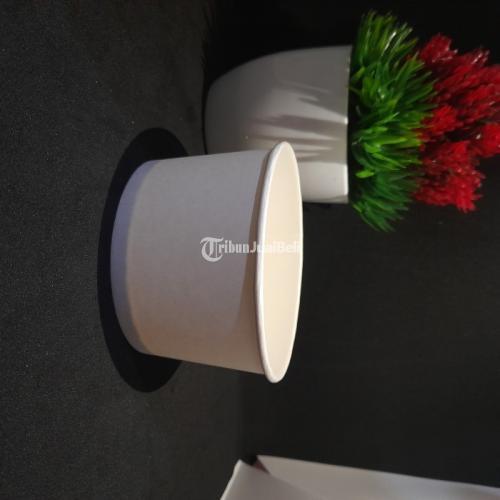 Sablon Paper Bowl 360ml Bahan Food Grade Custom Desain - Jakarta Pusat