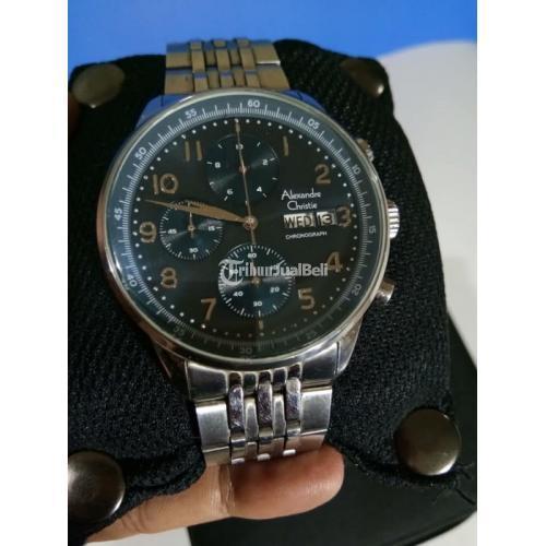 Jam Tangan Alexandre Christie 6492MC Bekas Mulus Like New Fullset - Semarang