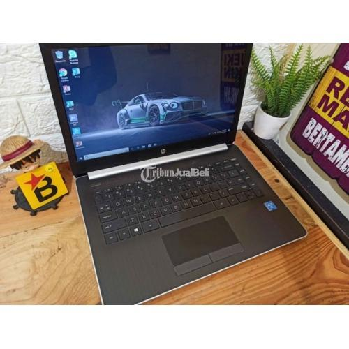 Laptop HP intel N4000 Ram 4GB HDD 1TB Bekas Normal Siap Pakai - Surabaya