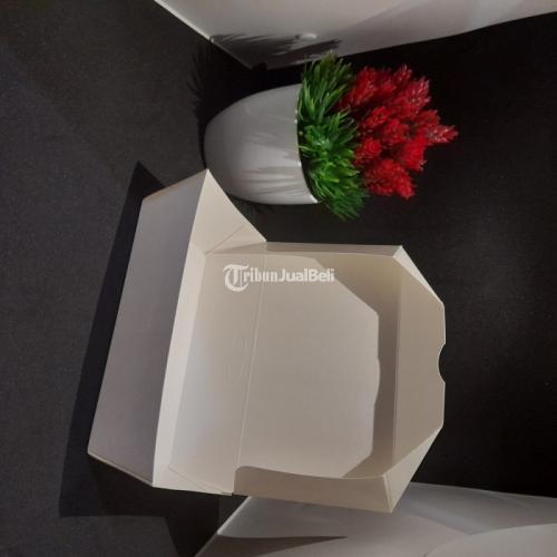 Sablon Paper Lunch Box Ukuran M Warna Putih Minimal Order 1000 Pcs - Jakarta Pusat