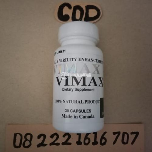 Agen Toko Obat Vimax Untuk Alat Vital Minum 1 Hari 1 Kapsul - Denpasar
