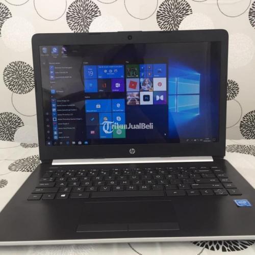 Laptop HP 14 HDD 1 Terabyte Garansi 1 Bulan Konsisi Bekas Normal - Semarang