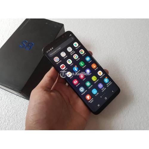HP Samsung S8 4/64GB Fullset Bekas Garansi 1 Minggu Mulus No Minus - Yogyakarta
