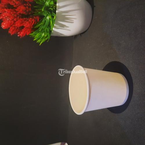 Sablon Paper Cup 6.5oz Bahan Food Grade Gratis Desain Cup Tidak Termasuk Tutup - Jakarta Pusat