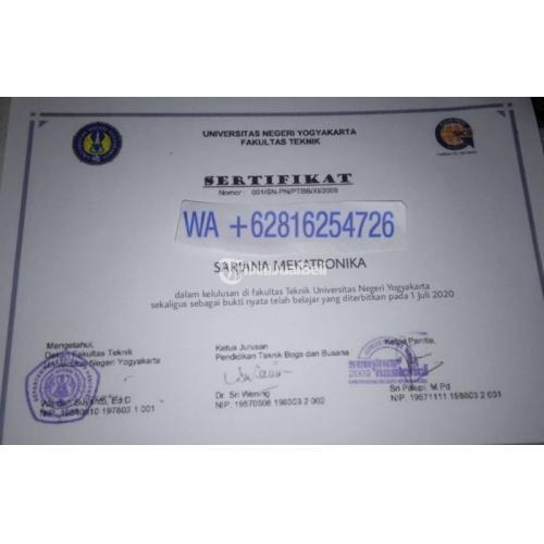 Jasa Pembuatan Ijazah Sekolah dan Universitas Jalur Resmi Berpengalaman - Bandung