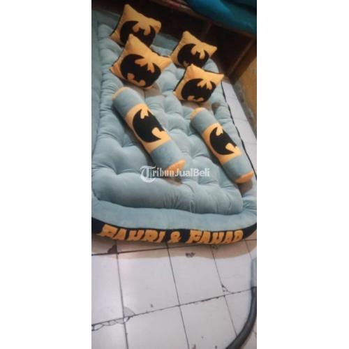Kasur Gander Uk 200x140x15cm Full Silicon Fullset Free Nama Harga Murah - Karawang