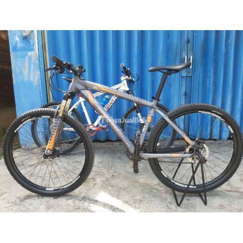 Sepeda United Detroid 2.0 Size M Bekas Rem Hidrolik Frame Full Protection - Banjarmasin