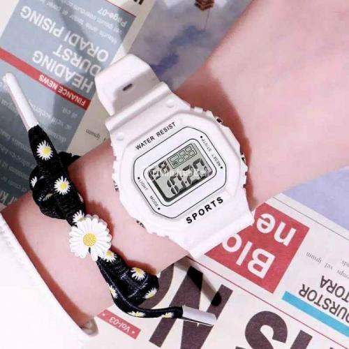 Jam Tangan Korea Style Baru Banyak Pilihan Warna Ready Stok - Cimahi