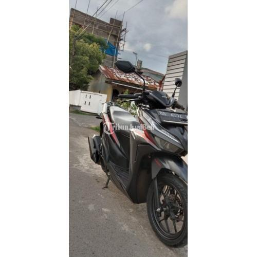 Motor Matic Bekas Honda Vario ISS 125 2019 Sehat Mulus Surat Lengkap Pajak Aman - Makassar