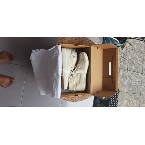 Sepatu Brand Brodo Vulcan Kanvas Size 42/43 Bekas Koleksi Harga Nego - Solo