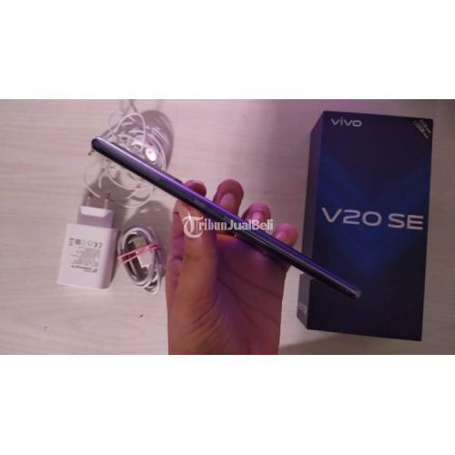 HP Vivo V20 SE 8/128GB Black Bekas Mulus Fullset Nominus Harga Murah - Solo