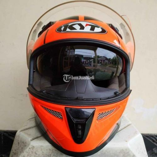 Helm Full Face Bekas KYT K2R Size M Like New Ada Sarung Harga Nego - Solo