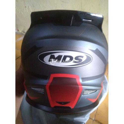 Helm Full Facea MDS Supermoto Szize XL Bekas Like New Busa Tebal Visor Bersih - Jogja