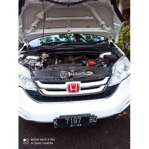 Honda CRV  2.0 Vtech Matic 2011 Putih Matic Bekas Mesin Halus Terawat - Semarang