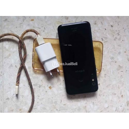 Infinix hot 8 4/64GB Bekas Baterai 5000mAh Mulus No Minus - Semarang