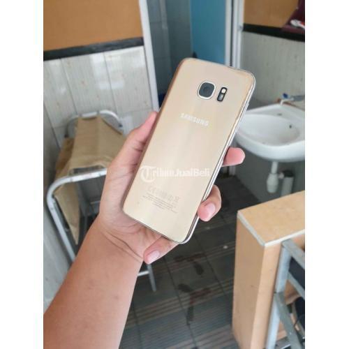 HP Samsung Galaxy S7 Edge Gold 4/32GB Bekas Fungsi Normal Mulus No Minus - Malang