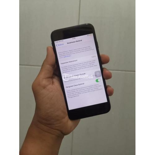 HP iPhone 7 128GB Fullset Bekas Garansi 1 Minggu Kondisi Normal Mulus - Malang